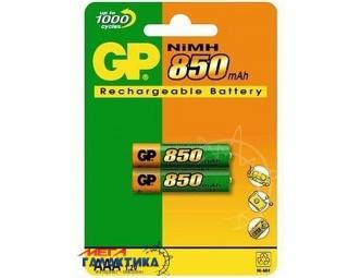 Аккумулятор GP AAA NiMh 850 mAh 1.2V (85ААAHС-UC)