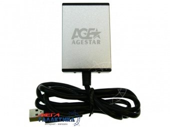 Конвертер AgeStar USB - eSata USB 2.0  Black Box