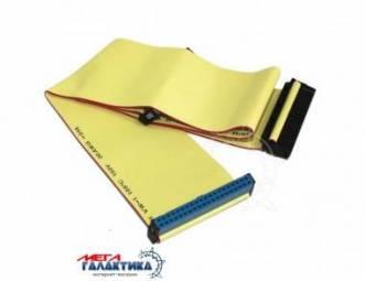 Шлейф Megag IDE (100 пин) 0.4m Yellow OEM