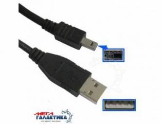 Кабель Konica Minolta USB M (папа) (8 пин) HY-008 1m Для фотокамер A1 / A2 / F100 / F200 / F300 / X / Xg / Xi / Xt / X20 / X31 / Z1 / Z2 Black