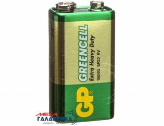 Батарейка GP Krona GLF-2S1 Greencell 9V Carbon-Zinc (Солевая) (4891199001246)