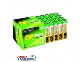 Батарейка GP AAA Super 1.5V Alkaline (24А-S2)
