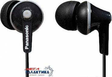 Наушники Panasonic RP-HJE125E-K Black (6028985)
