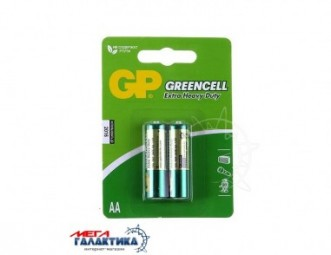 Батарейка GP AA 15G-2UE4 Greencell Extra Heavy Duty 1.5V Carbon-Zinc (15G-2UE4)