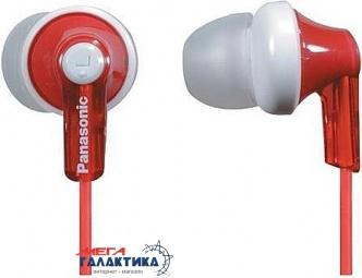 Наушники Panasonic RP-HJE118GU-R Red (6054962)