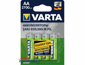 Аккумулятор Varta AA Professional NiMh 2700 mAh 1.2V (5706)