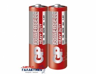 Батарейка GP AA Powercell Heavy Duty Carbon-Zinc 1.5V (15E-S2)