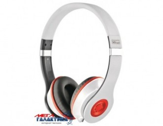 Гарнитура Trust Urban Revolt Headset Bazz White Red (18533)
