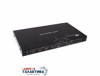 Разветвитель Megag HDMI Splitter SP108  v1.4 (Поддержка 3D) (1 вход - 8 выходов, с блоком питания, 1080p) Black