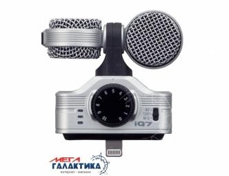 Микрофон Zoom iQ7 (282 438) Проводное Silver Retail