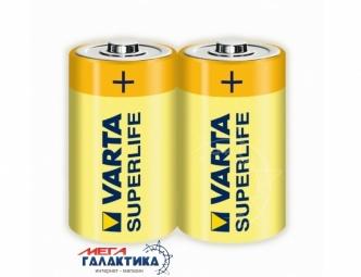 Батарейка Varta C SUPERLIFE FOL2 1.5V Carbon-Zinc (2014101302)