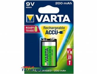 Аккумулятор Varta Krona (6F22) 200 mAh 9V NiMh (56722101401)