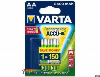 Аккумулятор Varta AA  2400 mAh 1.2V NiMh (56756101402)
