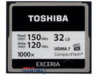Карта памяти Toshiba Compact Flash 32GB (CF-032GTGI(8))