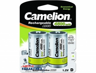 Аккумулятор Camelion D 4500 mAh 1.2V NiCd