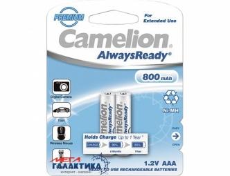 Аккумулятор Camelion AAA 800 mAh 1.2V NiMh (Никель-металлгидрид)