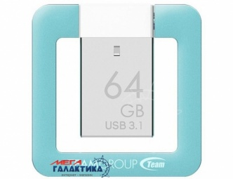 Флешка USB 3.1 Team T162 64GB (TT162364GL01)