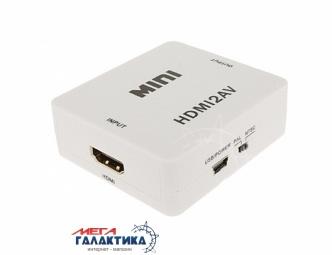 Конвертер Megag  VK-126  (+ Питание от USB, +переключатель PALNTSC) White