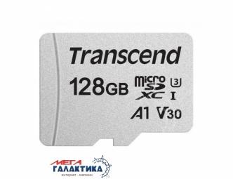 Карта памяти Transcend micro SDXC 128GB UHS-1 (U3) (TS128GUSD300S), R95/W45MB/s