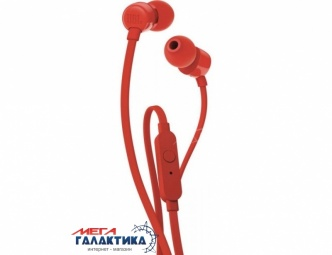 Гарнитура JBL T110 Red (JBLT110RED)