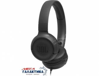 Гарнитура JBL T500 Black (JBLT500BLK)