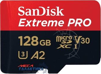 Карта памяти SanDisk micro SDXC 128GB UHS-1 (U3) (SDSQXCY-128G-GN6MA), R170/W90MB/s