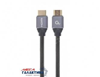 Кабель Cablexpert HDMI M (папа) - HDMI M (папа) CCBP-HDMI-10M 10m v2.0 (Поддержка 3D) Поддержка 4K @ 60Hz позолоченные коннекторы Gray