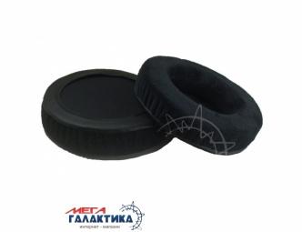 Амбушюр Malloom 90 мм мягкий, бархатный для SONY / Audio-Technica / Sennheiser Black (Вельвет)