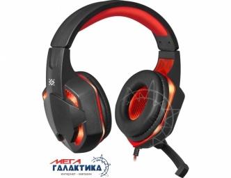 Гарнитура для ПК Defender Warhead G-370 Red Black (64037)