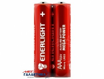 Батарейка Enerlight AAA MEGA POWER 1.5V Alkaline (Щелочная) ( 90030202)