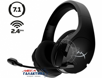Гарнитура для ПК Kingston Cloud Stinger Core Wireless 7.1 Black (HHSS1C-BA-BK/G)