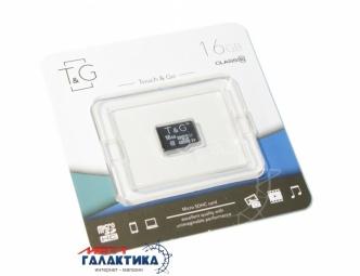 Карта памяти T&G micro SDHC 16GB UHS-1 (U1) (TG-16GBSD10U1-00)