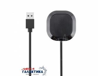 Микрофон для ПК FUGN Всенаправленный конденсаторный для компьютера, ноутбука, игр Black