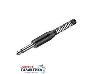 Разъем Roxtone Jack 6.3mm M (папа) (3 пин) RJ2PP-BN  Black