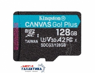 Карта памяти Kingston micro SDXC 128GB UHS-1 (U3) (SDCG3/128GBSP), R170/W90MB/s