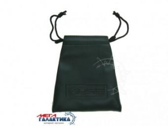 Чехол для портативных наушников Koss,.кожа, шнурок, черный 13*12см Черный
