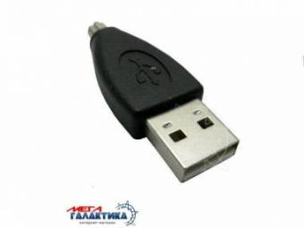 Переходник Viewcon USB M (папа) (8 пин) VA048  Для фотокамер Olympus Black