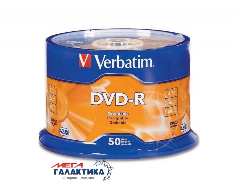 Диск DVD-R Verbatim  4.7GB (43548) Фото товара №1