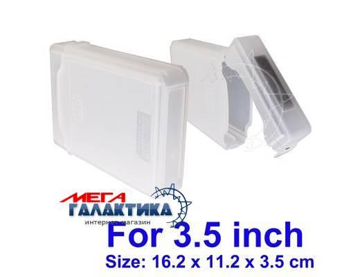 Карман для HDD Megag Store Tank (Бокс для переноски)   White Фото товара №1