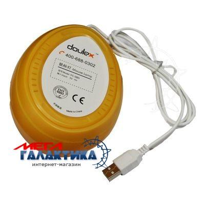 Лампа USB Megag ночник включается касанием, настольное и настенное крепление, кабель 1.2м  LiteGreen Фото товара №2