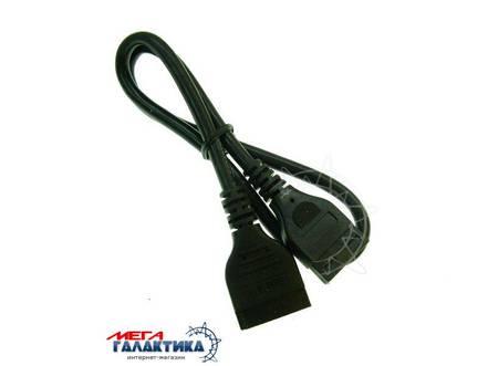 Кабель Megag IDE - SATA (питание)  0.5m Black OEM