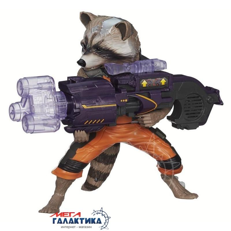 Фигурка  Guardians of the Galaxy — Rocket Raccoon Big Blastin  25 см Retail Фото товара №2