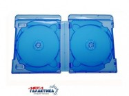 Blue-Ray Box на 6 дисков  Lightblue,  Прозрачный