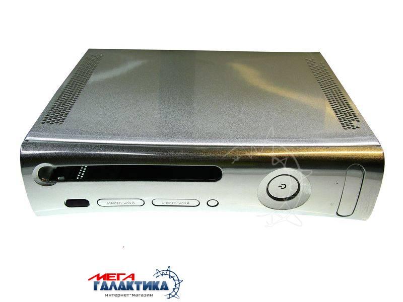 Корпус Серебряный перламутр (для моделей без HDMI)   Silver Xbox 360 OEM Фото товара №1