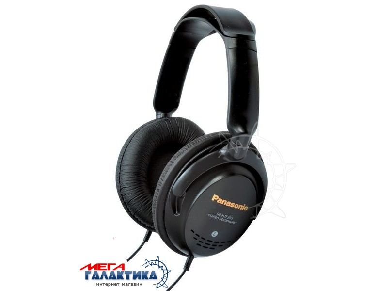 Наушники Panasonic RP-HTF295E-K Black  Фото товара №1