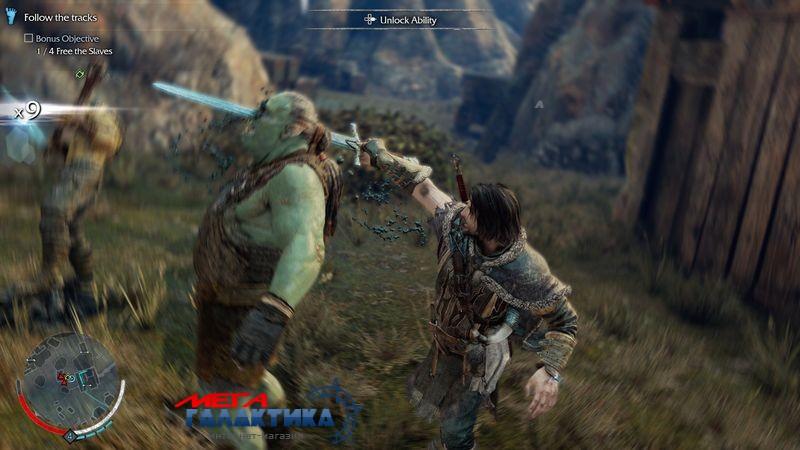 Игра Shadow of Mordor: Middle-earth  (PS4, английская версия) Фото товара №2