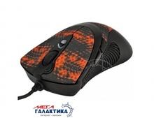 Мышка A4Tech F7 (Shake)  (4711421884785) USB  3000 dpi  Red Black