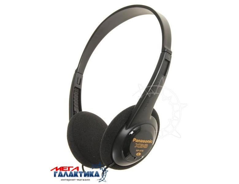 Наушники Panasonic RP-HT6E-K Black (5670123) Фото товара №1