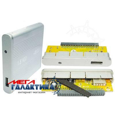 Карман для HDD Megag  USB 2.0  Silver Фото товара №2