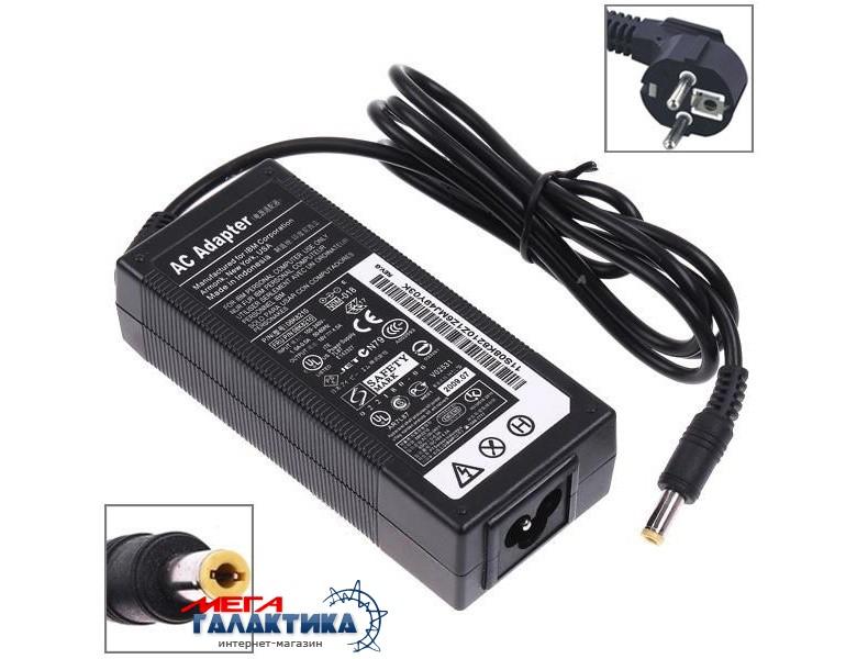 Блок питания Для ноутбука Megag   72W 16V 4.5A 5.5x2.5mm Lenovo  Black ThinkPad R40E  / X41 / IBM T20 / X40 Фото товара №1